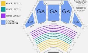 North Charleston Performing Arts Center Seating Chart 50 Valid Shoreline Amphitheater Seating Chart