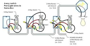 3 Switches 3 Lights Wiring Diagram Troubleshooting 3 Way 4 Way Switches Wiring Diagrams