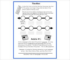 powerpoint biography 6 biography timeline templates free word excel format download