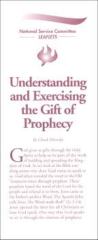 understanding and exercising the gift of prophecy munication center catholic religious education