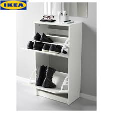 malaysia ikea bissa white shoe cabinet with 2 compartments 49x93 cm