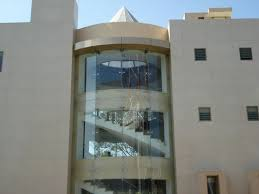 spider fitting work frameless spider glazing fittings work service provider from vadodara