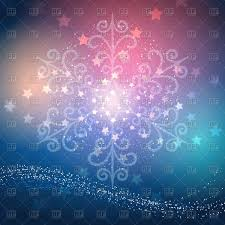 New Year Backgrounds Curly Festive Snowflake On Blurred Background Christmas And New