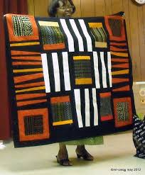 Best 25+ African quilts ideas on Pinterest | Quilt patterns, Easy ... & Chicago Modern Quilt Guild May 2012 New member Reneau's made with cloth  from Africa when she Adamdwight.com