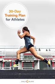 Your 30 Day Athlete Training Plan For Power Strength And Speed