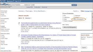 My Bibliography - My NCBI Help - NCBI Bookshelf