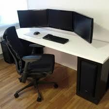 stylish office desk setup. Computer Workstation Ideas Homely Inpiration 17 Home Office Desk Work From Stylish Setup R