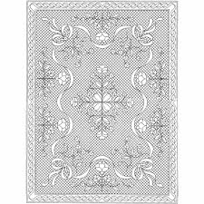 Floral Fantasy Wholecloth Crib Quilt Kit- White - Holice Turnbow ... & Floral Fantasy Wholecloth Crib Quilt Kit- White Adamdwight.com