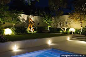 contemporary landscape lighting. contemporary coastal living completehome throughout outdoor lighting perth landscape