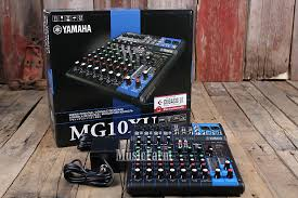 yamaha mg10xu. yamaha mg10xu 10 channel mixer with usb output and spx digital effects mg10xu