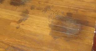 how do you remove dark water stain from wood floor