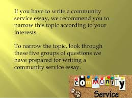 community service essay created by essay academy com 2