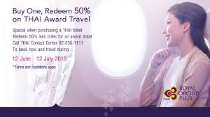 Promotion Buy One Redeem 50 On Thai Award Travel