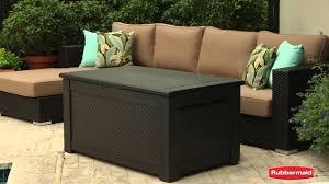 bench rubbermaid storage suncast resin wicker deck box in patio furniture nice 7