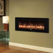 caesar fireplace 60 in wall mount electric fireplace w back lighting chfp
