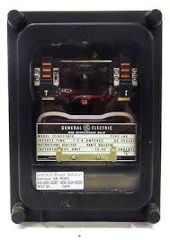 new general electric ge iac51b3a overcurrent relay d520272 general electric time overcurrent relay 12iac51b2a type 1ac