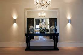 entrance furniture. Modern Luxury Design Of The Entrance Furniture Ideas That Has Cream Concrete Wall Can Be Decor With Wooden Floor Add Beauty Inside House