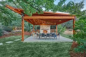 backyard pergola and gazebo design