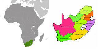 guney afrika haritasi - Gezilecek Yerler - FilGezi