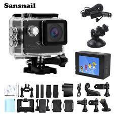 Sansnail 4K Camera sj8000 Ultra HD Novatek 96660 Action Cam ...