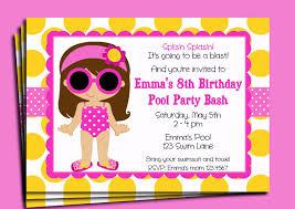 pool party invitations templates ideas invitations ideas pool party invitations template