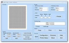 Download Graph Paper Creator Software 7 0