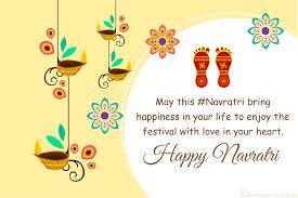 design happy navratri cards for free