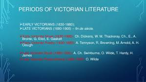 all themes of victorian era literature 4 periods of victorian