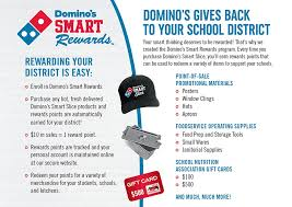 domino s gives back to your district