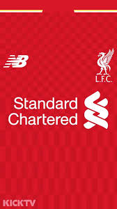 liverpool fc jersey wallpaper new premier league 15 16 kit mobile wallpapers footy headlines of liverpool
