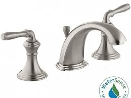 Bathroom Superb Kohler Bathtub Faucets Widespread Handle High