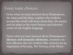 an introduction to william shakespeare ppt  47 essay topic