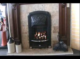 Adorn Gas Coal Fireplace Video - YouTube