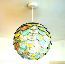paper light shades lamp shade fabulous globe full image for vintage large uk