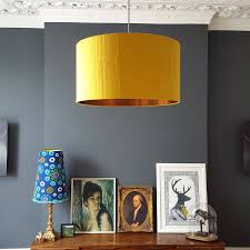 gold lampshade gold lamp shades for table lamps yellow copper
