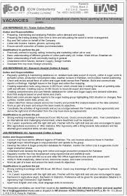 jobs in icon consultants pvt limited karachi