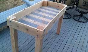 deck garden planter box plans garden box ideas garden planter architectures in spain