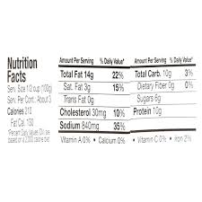 Walmart Deli Nutrition Chart Walmart Deli Hickory Smoked Ham Salad 11 Oz Walmart Com