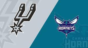San Antonio Spurs Vs Charlotte Hornets 01 14 19 Starting
