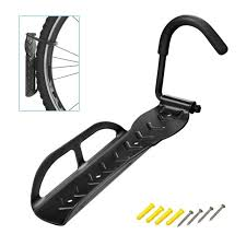 bicycle bike cycling garage storage wall mount hook hanger holder rack stand