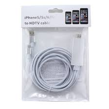 iphone to hdmi. 8pin to hdmi cable 2m hdtv display adaptor iphone hdmi l