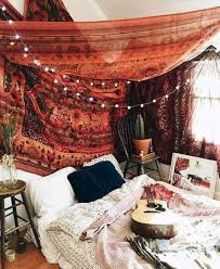chic bohemian bedroom decor ideas with