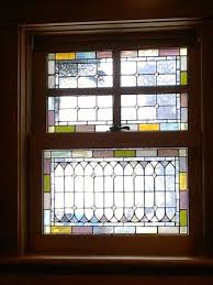 stained glass windows pale tones w 40