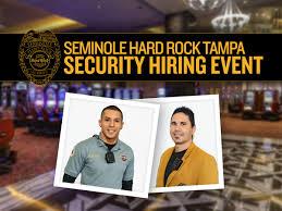 Casino Security Seminole Hard Rock Hotel Casino Tampa Holding Security Hiring