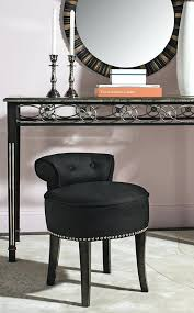 beautiful vanity chairs stools to add elegance to your dressing vanity chair with back it a upholstered black vanity stool furniture vanity chair with