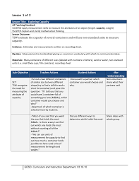 2nd Gr Measurement Lesson1 Capacity
