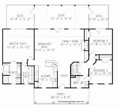 house plans with bedrooms on one side lovely ranch floor plans with split bedrooms ideas