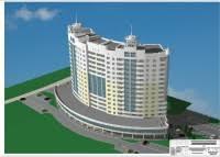 Проекты жилых зданий pgs diplom pro Магазин готовых дипломных  332 14 15 ти этажный жилой дом переменной этажности на 140 квартир 2 блок секции с подвальными помещениями в г Липецк мгсу