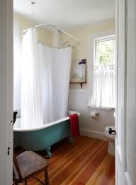 clawfoot tub bathroom ideas. Dazzling Clawfoot Tubs In Bathroom Beach Style With Cafe Curtains Next To Ceiling Mounted Shower Curtain Tub Ideas
