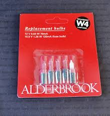 Alderbrook Lights Noma W4 12v 0 84w 70ma Clear Plus Fuse Ak0380c Small Base Spare Bulbs 1410